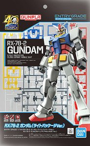 Entry Grade RX-78-2 Gundam (Lite Package Ver.) (Gundam Model Kits)
