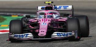 Spark 18S462 1//18 2019 Racing Point RP19 Lance Stroll China 1000th GP F1 Model