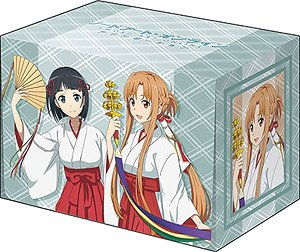 Bushiroad Deck Holder Collection V2 Vol.1182 Sword Art Online: Alicization [Asuna & Suguha] Miko Costume Ver. (Card Supplies)