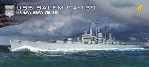 USS Salem CA-139 (Plastic model)
