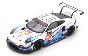Porsche 911 RSR No.56 Team Project 1 - 24H Le Mans 2020 (ミニカー)