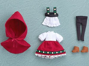 Nendoroid Doll: Outfit Set (Little Red Riding Hood) (PVC Figure)