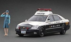 Toyota Crown (GRS180) 神奈川県警 自動車警ら隊001号 ※婦人警官フィギュア1体付属 (ミニカー)