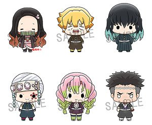 Chokorin Mascot Demon Slayer: Kimetsu no Yaiba Vol.3 (Set of 6) (PVC Figure)