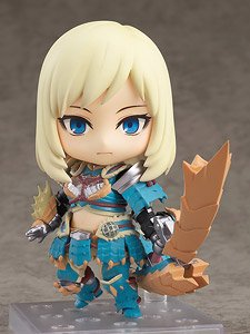Nendoroid Hunter: Female Zinogre Alpha Armor Ver. DX (PVC Figure)