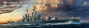 USS Light Cruiser Birmingham CL-62 (Plastic model)