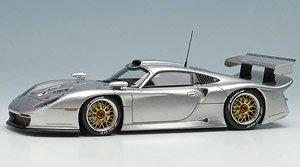 Porsche 911 GT1 EVO 1997 シルバー (ミニカー)