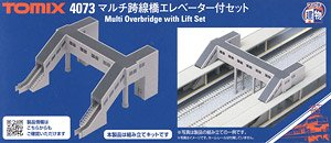 Multi Overpass with Elevator Set (Model Train)