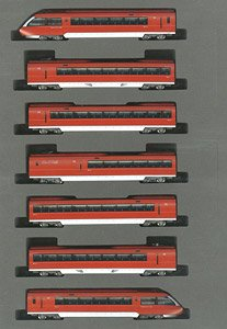 Odakyu Electric Railway Romancecar Series 70000 GSE (2nd Formation) Set (7-Car Set) (Model Train)