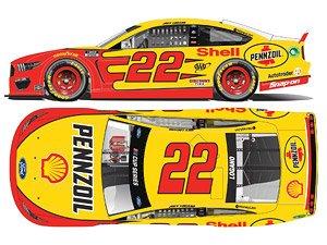 `ジョーイ・ロガーノ` #22 シェル・ペンゾイル フォード マスタング NASCAR 2021 (ミニカー)
