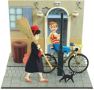 [Miniatuart] Studio Ghibli Mini : Kiki`s Delivery Service Anxious Witch Girl (Assemble kit) (Railway Related Items)