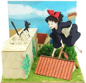 [Miniatuart] Studio Ghibli Mini : Kiki`s Delivery Service Kiki & Jiji`s Family (Assemble kit) (Railway Related Items)
