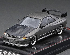 TOP SECRET GT-R (VR32) Titanium Gray (Diecast Car)