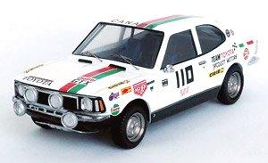 トヨタ カローラ レビン 1973年プレス・オン・リガードレスラリー 優勝 #110 Walter Boyce / Doug Woods (ミニカー)