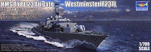 イギリス海軍 23型フリゲート HMS ウェストミンスター(F237) (プラモデル)