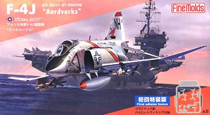 USN F-4J `Aardvarks` (First Limited Special Edition) (Plastic model)