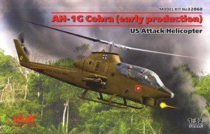 AH-1G Cobra (Early Production) US Attack Helicopter (Plastic model)