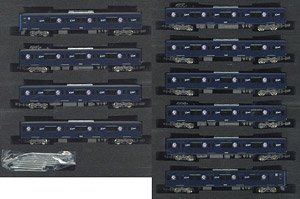 Seibu Series 20000 (20105 Formation, L-train) Ten Car Formation Set (w/Motor) (10-Car Set) (Pre-colored Completed) (Model Train)