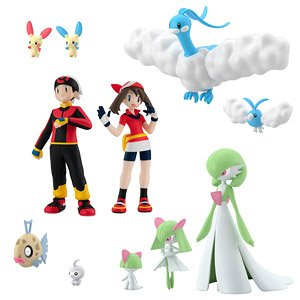 Pokemon Scale World Hoenn 2 Set (Shokugan)