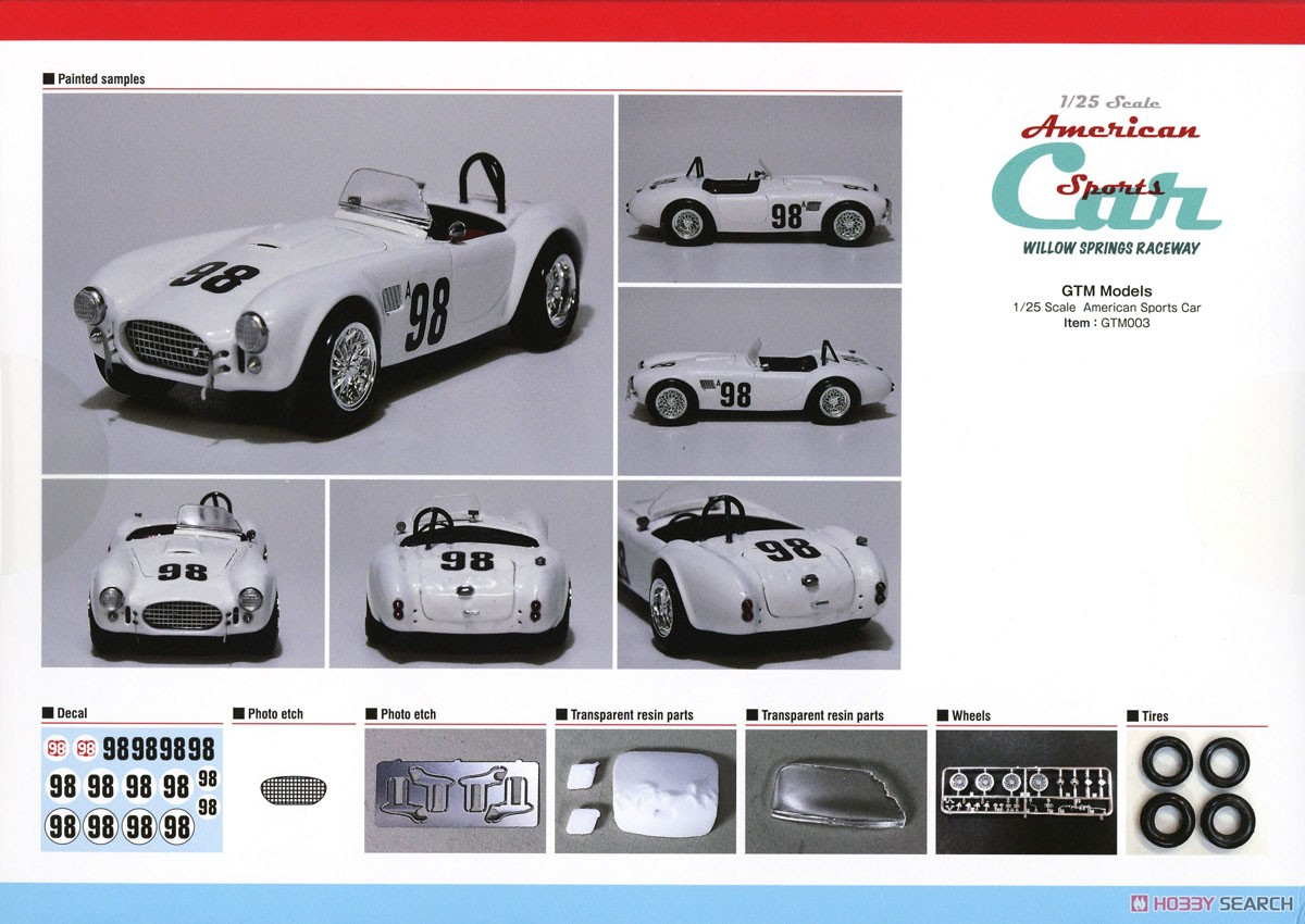 AC Cobra Willow Springs Raceway (Model Car) Other picture1