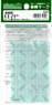 [ 6405 ] Number Marking Sheet (Matte Silver) (for Tokyu Early Color & Izukyu etc.) (Model Train)
