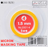 Micron Masking Tape 1.5mm (Hobby Tool)