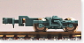 Bogie Type FS547 (Green Gray) (2pcs.) (Model Train)