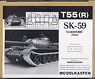 Crawler Track for T-55 (Plastic model)