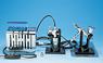 Mr.Linar Compressor Petit-Com w/Air Brush and Regula...