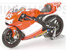 DUCATI DESMO16  1.GP VICTORY DIRTY VERSION (ミニカー)