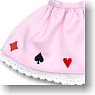 Panier and Playing Cards Print (Pink) (Fashion Doll)