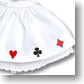 Panier and Playing Cards Print (White) (Fashion Doll)