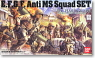 E.F.S.F. Anti MS Squad Set (Gundam Model Kits)