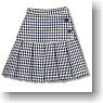 Pleats Mini Skirt (Waffle) (Fashion Doll)