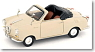 Goggomobil TS convertible light ivory (ミニカー)