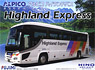 Hino Selega SHD Alpico Highland Version (Model Car)