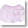 For 23cm Ribbon Miniskirt (Pink) (Fashion Doll)
