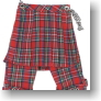 Bondage Pants (Red Tartan) (Fashion Doll)