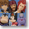 Kingdom Hearts Formation Arts Vol.3 8 pieces (PVC Figure)