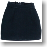 For 27cm Secretary Mini Skirt (Black) (Fashion Doll)