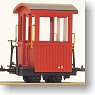 [Limited Edition] Kiso Forest railway Cabooth (Control Car) (Completed) (Model Train)