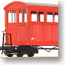 [Limited Edition] Kiso Forest railway Passenger Car Type B (Vertical Board Specific) (Completed) (Model Train)