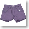 Short Pants (Purple) (Fashion Doll)