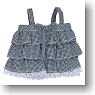 Check Camisole (Black Gingham) (Fashion Doll)