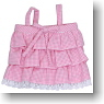 Check Camisole (Pink Gingham) (Fashion Doll)
