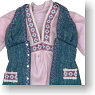 Bohemian Tunic (Pink) (Fashion Doll)