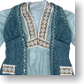 Bohemian Tunic (Light Blue) (Fashion Doll)