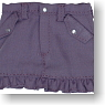 Frill Mini Skirt (Purple) (Fashion Doll)