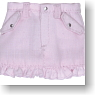 Frill Mini Skirt (Pink) (Fashion Doll)