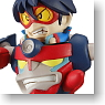 Gurren-lagann We`re Mini Gurren Team Figure Strap Lagann & Shimon (Anime Toy)